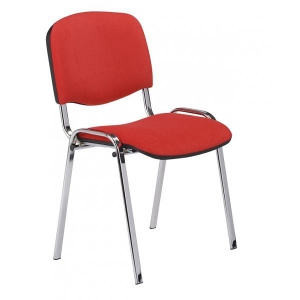 Chaises visiteurs chaise iso chromee - Chaises visiteurs design ...
