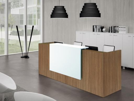 Comptoirs de réception mobilier de bureau